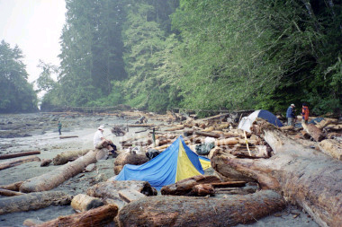 Camping in BC