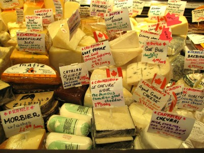 Canadian cheeses