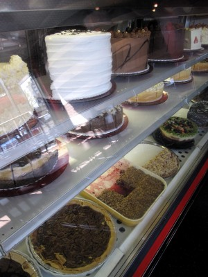 Cakes & Pies at True Confections on Denman St.