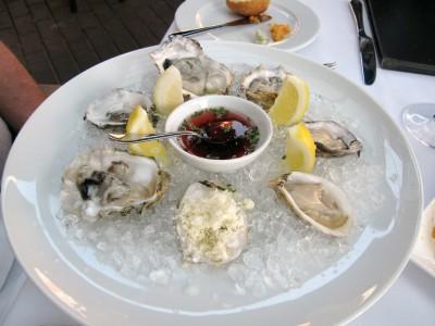 Kusshi and Royal Miyagi oysters
