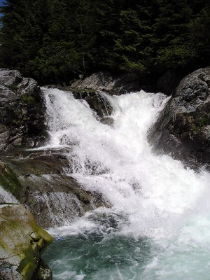 Widgeon Falls near Pitt Lake