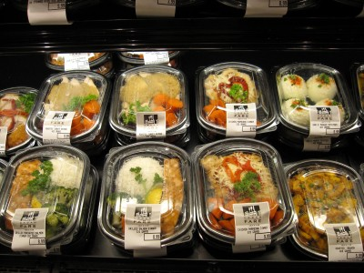 Urban Fare's pre-packaged dinners and lunches