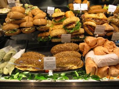 Picnic-ready sandwiches