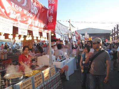 Summer Night Market in Richmond, B.C.