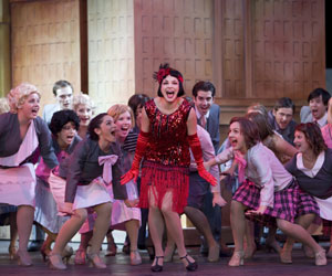 Thoroughly Modern Millie at TUTS