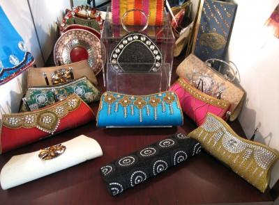 Beaded handbags at Crossover Bollywood SE