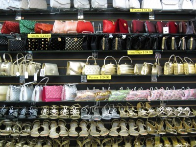 Purses & shoes, Palika Gift House, Punjabi Market