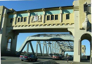 Burrard Bridge, Vancouver BC 2010. Photo by J. Chong