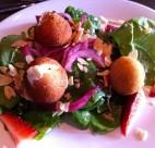 Chevre Salad at Au Petit Chavignol