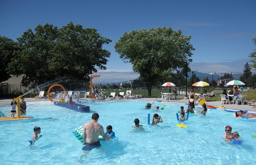 Get The Kids Wet Vancouver Outdoor Pools Inside
