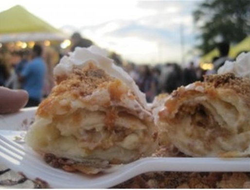 Butterfinger Deep Fried Cheesecake at the Summer Night Market in Richmond. Photo: Summer Night Market in Richmond / Lions Communications Inc.