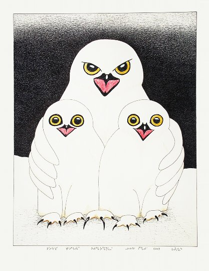 New Inuit Art Exhibit At Downtown Gallery Inside Vancouver