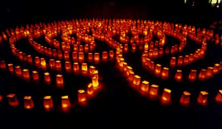 Join Us For The Solstice Group Distant Healing Event On 21 December, 2016! Labyrinth-lit