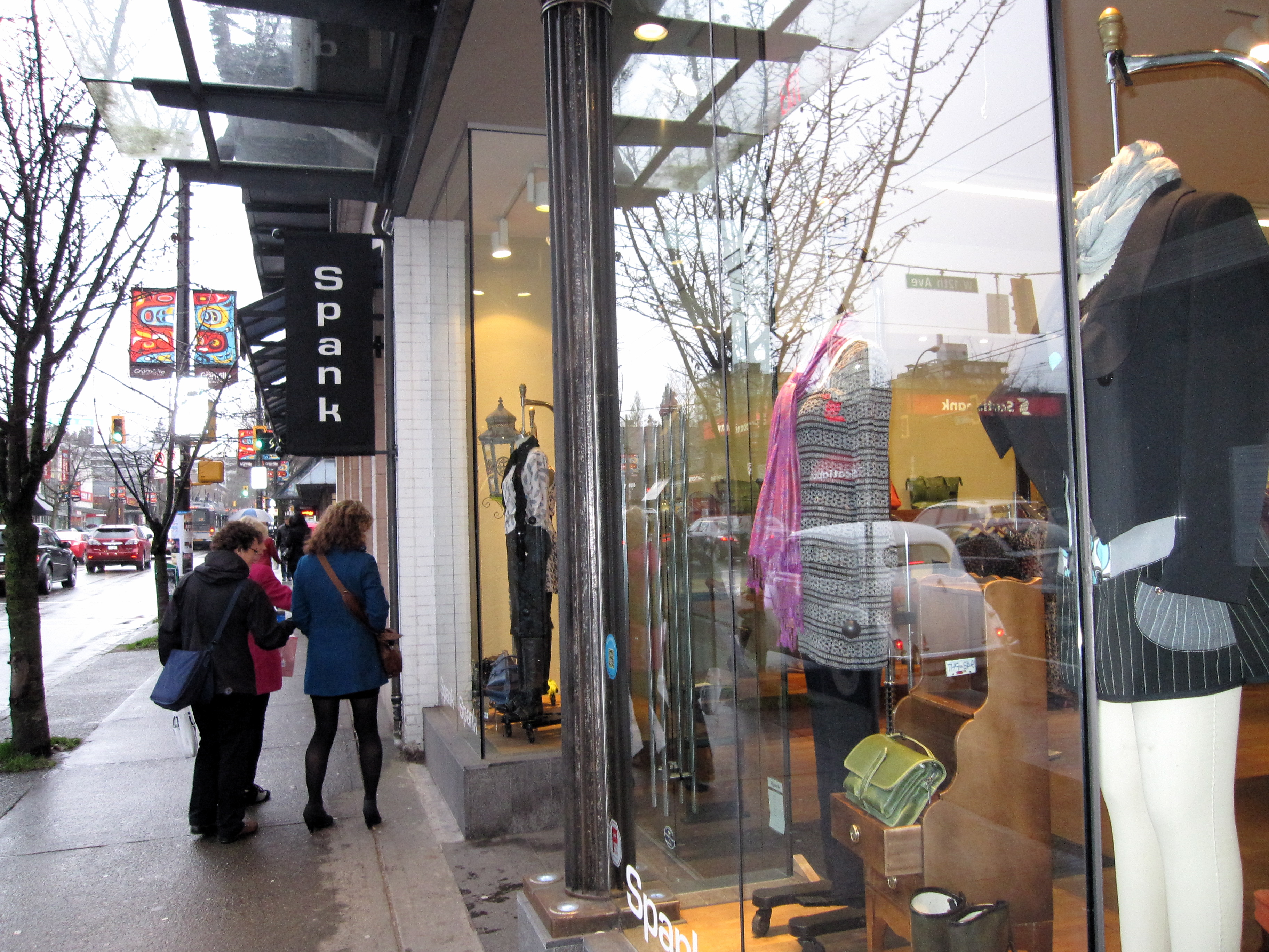 Spank opened a location on South Granville in 2011. Photo: Dana Lynch