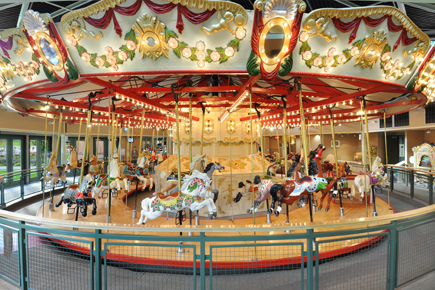 Burnaby Village Museum Carousel. Photo: Burnaby Village Museum