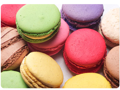 Macarons at Thierry. Photo: Thierry