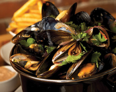 Mussels at Chambar, one of the 250+ restaurants participating in Dine Out for LIfe. Photo: Chambar Belgian Restaurant