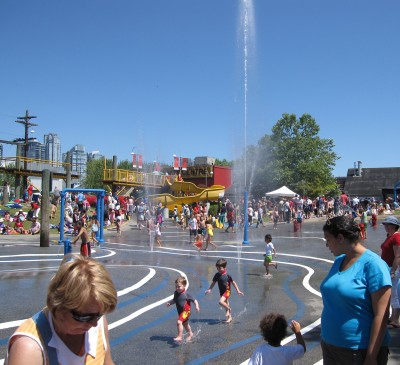 Granville Island Water Park. Photo: Dana Lynch