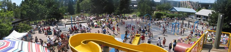 Photo: Granville Island Water Park