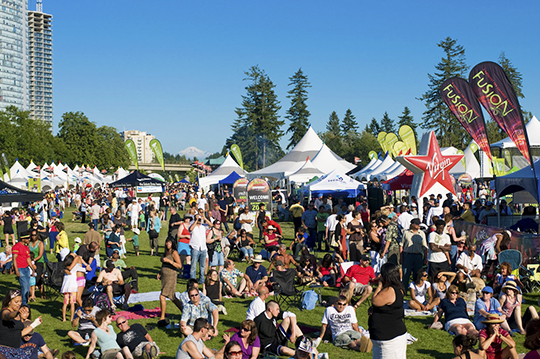 Surrey Fusion Festival. Photo: Tourism Surrey