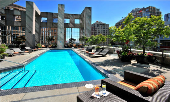 Hotel patios to sip away the summer inside vancouver blog for City of vancouver swimming pools
