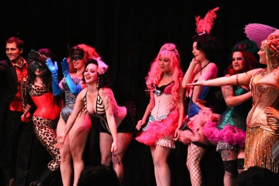 performers at Beerlesque 2011