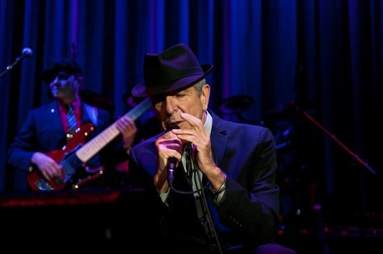 Leonard Cohen at Rogers Arena