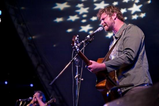 Dan Mangan concert photo