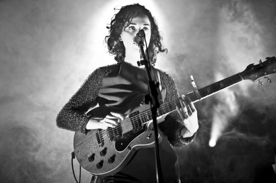 St. Vincent concert photo