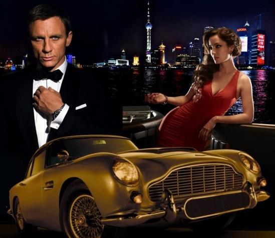 Bond Night Shangri-La Hotel poster image