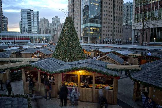 Vancouver Christmas Market.German Style Vancouver Christmas Market Returns Nov 24