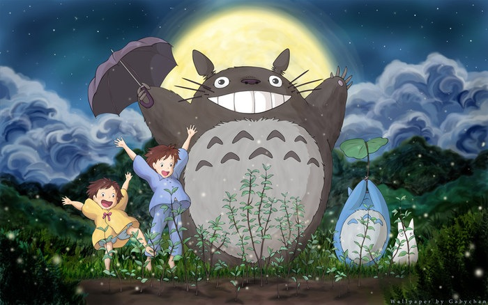 My Neighbor Totoro movie scene