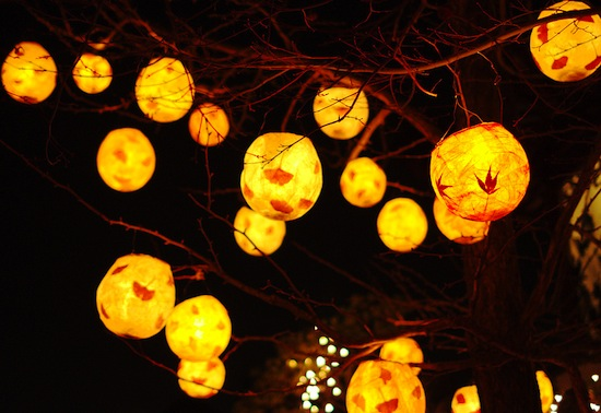 winter solstice lantern festival