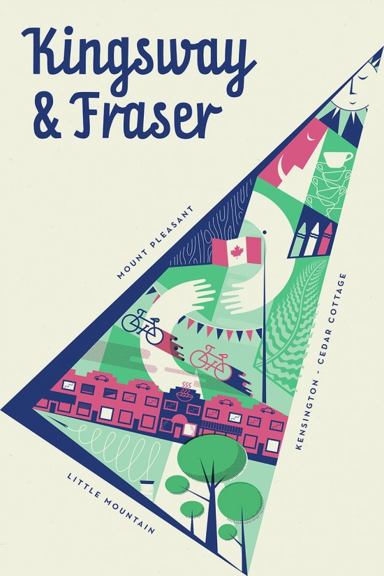 Kingsway & Fraser poster for Intersections