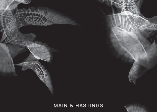 Main & Hastings poster by Glasfurd & Walker for Intersections