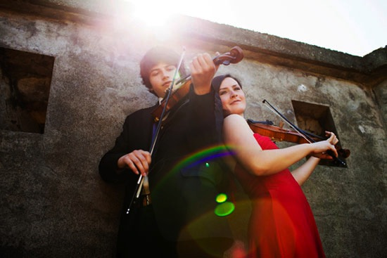 Qristina and Quinn Bachand are performing at CelticFest Ceilidh and Mahony & Sons Celtic Village. Photo courtesy of CelticFest.