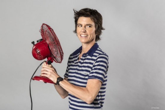 Tig Notaro, one of the hosts of the Professor Blastoff podcast