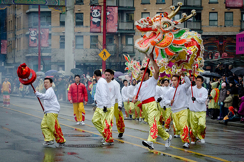 Chinese New Year Parade. Photo credit: Flickr user andreblanchard