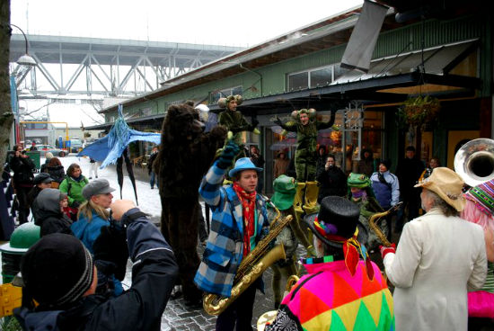 Winterruption Festival. Photo credit: Granville Island