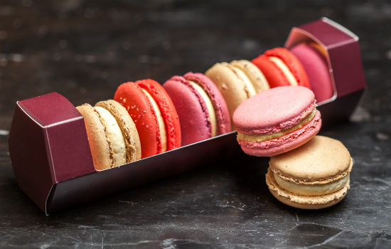 Macarons by Thierry including salted caramel and lychee. Photo credit: Thierry