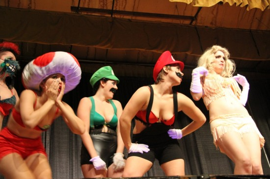 Video game burlesque Vancouver