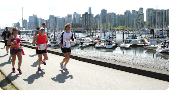 Photo courtesy of BMO Vancouver Marathon