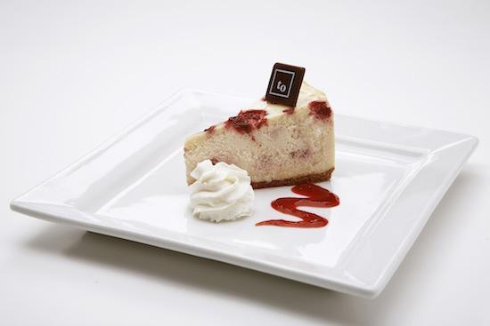 White Chocolate Raspberry Cheesecake at Trees Organic Coffee