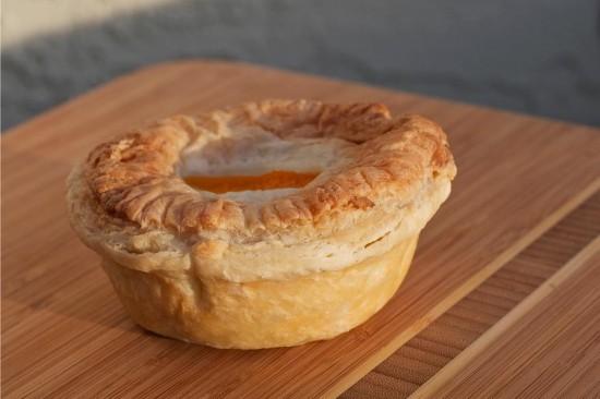 Aussie hand pie. Photo credit: Aussie Pie Guy