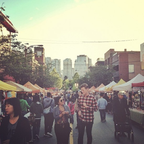 Vancover Chinatown Night Market. Photo credit: Vancouver Chinatown Night Market Instagram