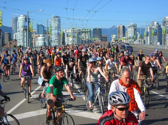 Critical Mass Vancouver 2013