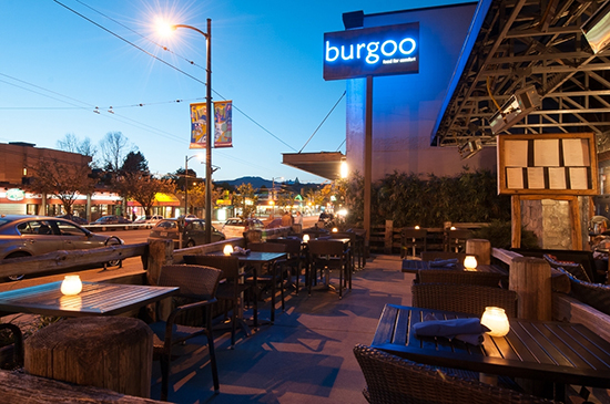 Main Street Patio action at Burgoo Photo credit: Burgoo