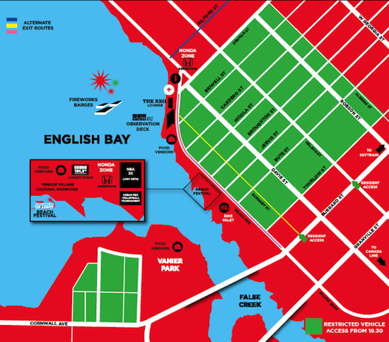 2012 Celebration of Light Map (2013 map not yet available)