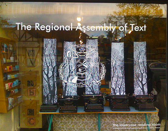 Create word art at Regional Assembly of Text Photo Credit: Flickr/Kriskrug