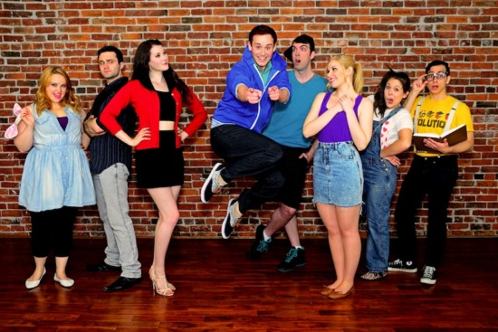 The cast of Riverview High returns to the Firehall Arts Centre, Aug 7 - 24. Photo: Riverview High The Musical website.